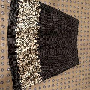Loft pleated skirt